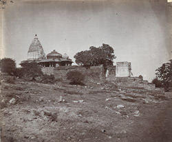 General view from a distance of the Mahakali Temple (Kalika Mata Temple), Chittaurgarh [Chitorgarh]